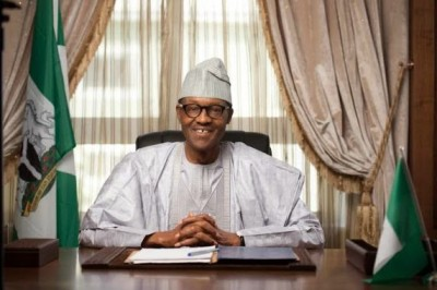 """President Muhammadu-Buhari: """"Many Nigerian media – print as well as electronic – are in bad shape. They are not paying salaries to their workers and cannot even guarantee regular outing on the newsstand. A senior editor in one of the outfits volunteered that he last received a salary in October 2013. This is worse than the situation with state governments who could not pay workers' salary and which compelled the Muhammadu Buhari administration to order a bail out for the affected states. A Federal Government-inspired bail out is needed for distressed media houses in Nigeria. We have already established the case for the media as a 'must have' in a democracy."""""""