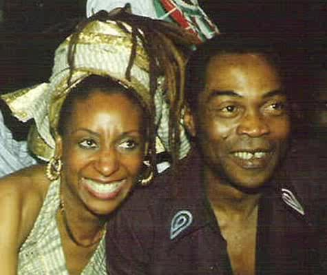 """Sandra and Fela: """"Izsadore, according to the report, would become Fela's lover, friend and teacher, giving him a copy of The Autobiography of Malcolm X and opening his eyes to Black consciousness."""""""