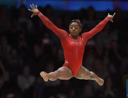 Simone Biles: most decorated in Glasgow