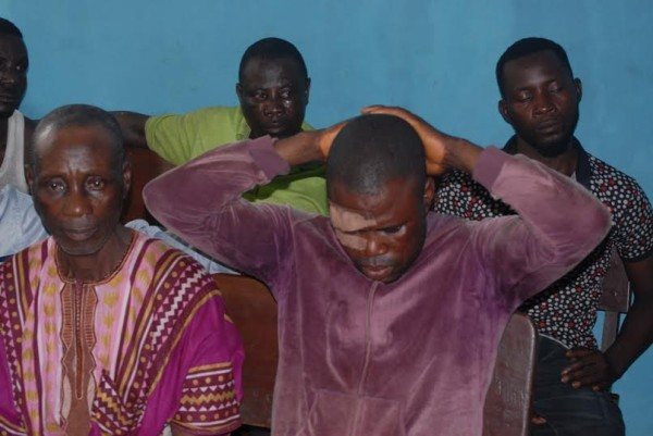 Disu: some of the suspected killers