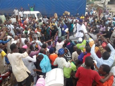 The Ooni elect arrives
