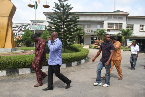 The Illegal oil dealers jailed  in Lagos today