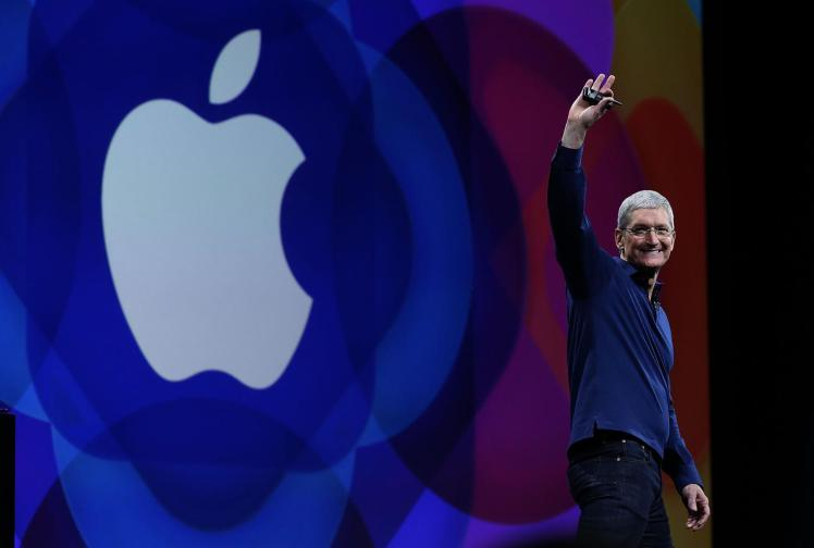 Apple and its CEO Tom Cook