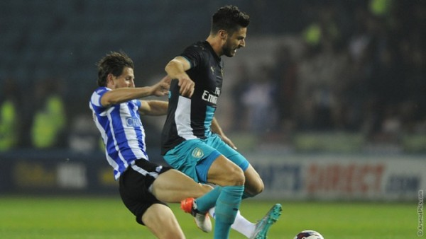 No way for Giroud at Sheffield Wednesday