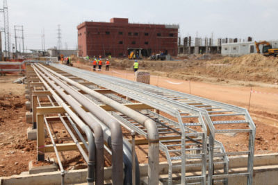 West African Gas pipeline to a Ghana thermal plant