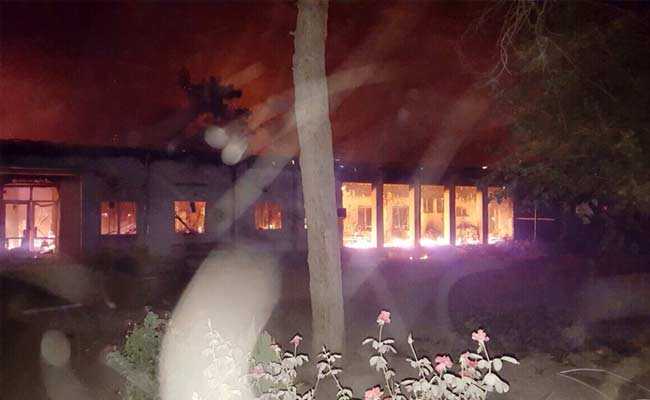 MSF Hospital on fire: patients burned to death