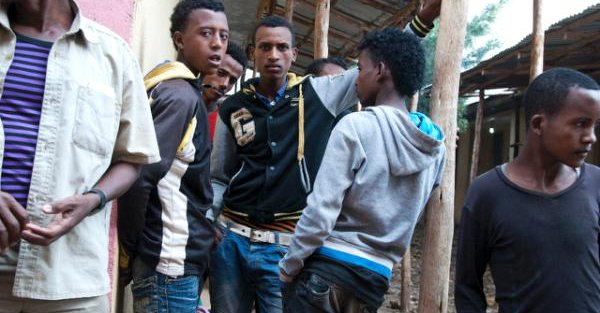 Eritrean refugees: some of them now Sweden bound