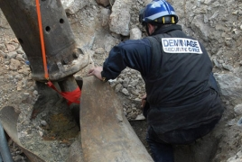 WW2 era bomb unearthed and detonated at Dusseldorf airport