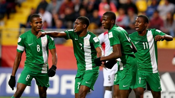 The Eaglets with Bamgboye, No 7 Jersey