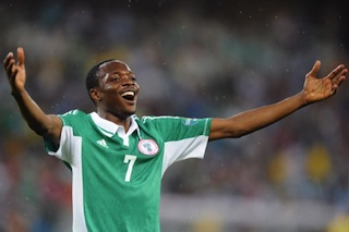 Nigeria's forward Ahmed Musa : also not in contention for Glo-CAF award