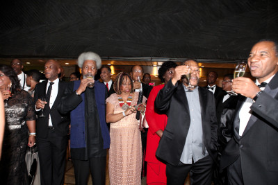 Soyinka in Brazil, received by high level government functionaries