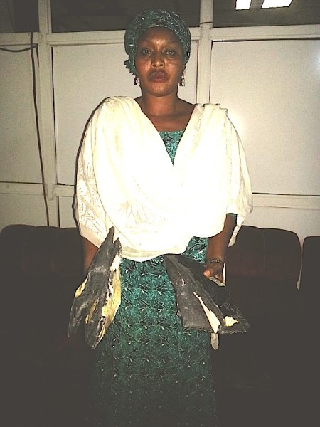 One of the female suspects arrested by NDLEA