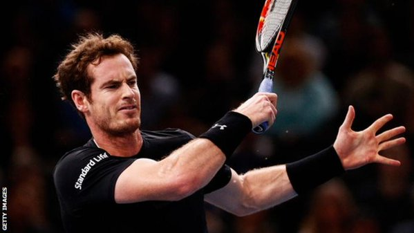 Andy Murray: couldn't fend off Djokovic