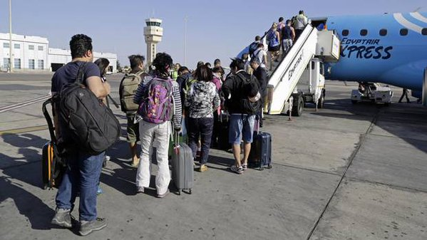 11,000 Russian tourists evacuated from Egypt