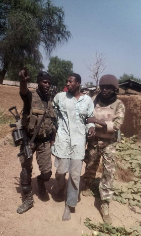 a Boko Haram suspect arrested in latest operation
