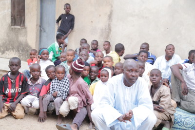 Children at the IDP Camp, Kano