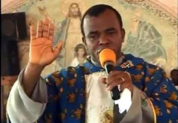 Father Mbaka: condemns protest for Biafra