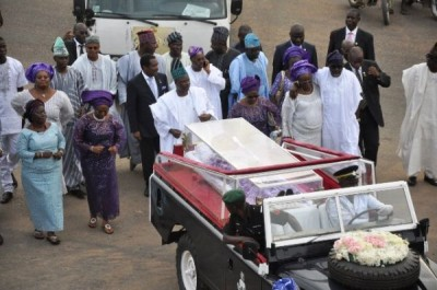 Governor Amosun played a big role in the burial