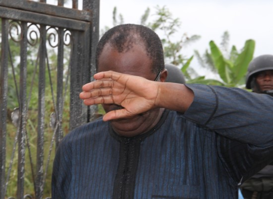 Face of Shame: one of the accused in the scam at Federal Medical Centre , Owo