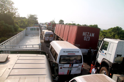 Idah Junction blocked during the election period (1)