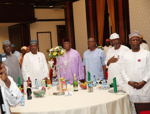 Another  Cross section of Senators during the Presidential Dinner
