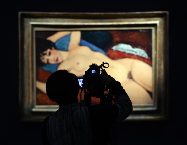 The Sensuous Modigliani nude paint bought at $170.4 by Chinese billionaire