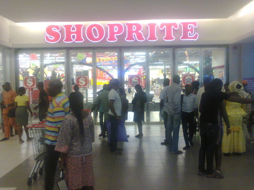 Customers of Shoprite shut out on Lagos State Government order