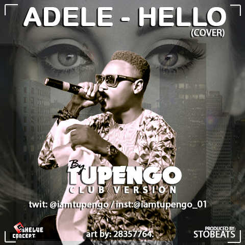 The cover of the Club version of Hello, made in Nigeria
