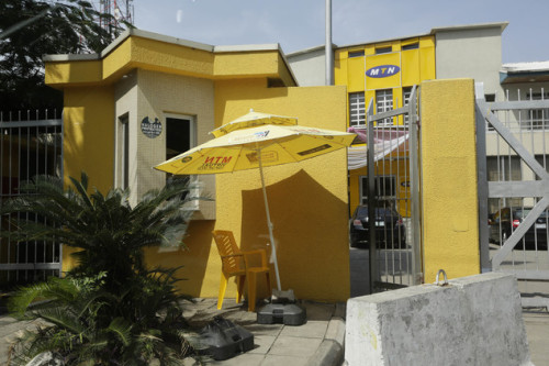 An MTN office in Lagos: firm wants to sue NCC over fine