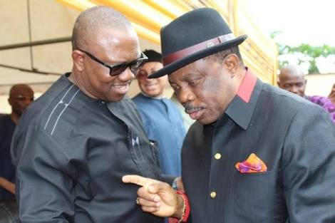 Peter Obi and his successor, Willie Obiano