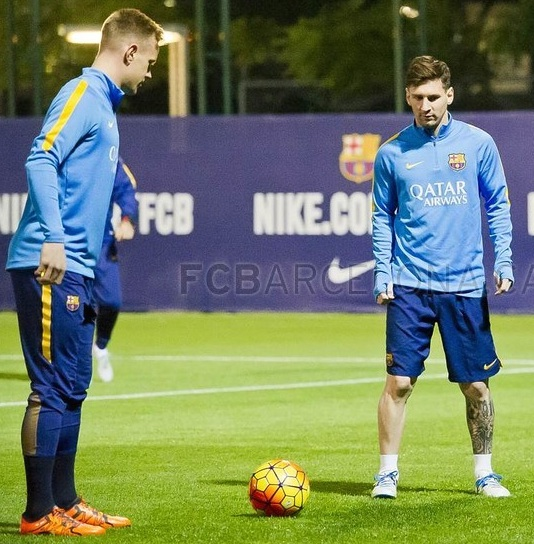 Messi will train again today Tuesday