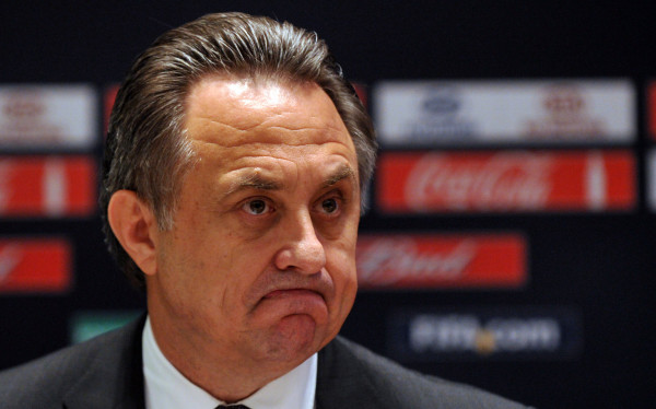 Vitaly Mutko: accused of covering up dope results