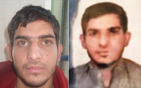 Ahmad alMohammad faces. Believed to have been a suicide bomber Credit: telegraph London