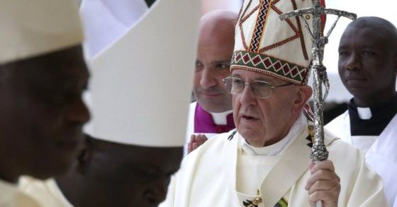 Pope Francis: warns on world climate
