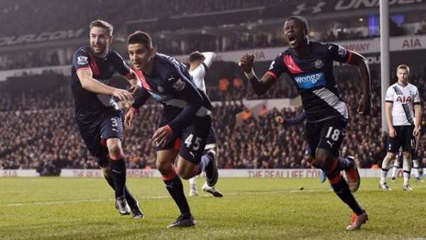 Simply excited  players for turning around the game at White Hart Lane
