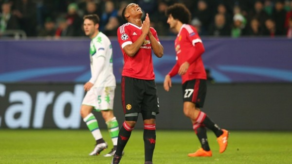 A disappointing Day for Man United
