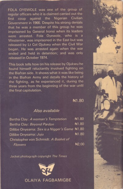 Back of the book