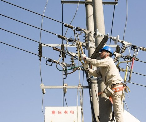 All parts of China connected to electricity