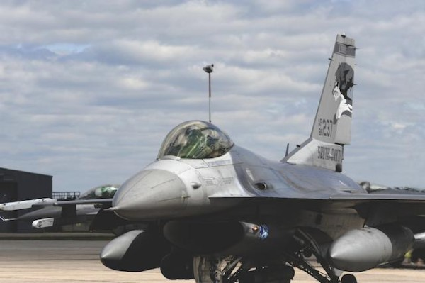 F16 fighting Falcon made in USA