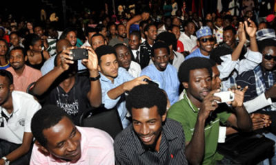 Nigerian youths at an event. Are they architects of their fate?