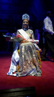 Nwadike after being crowned
