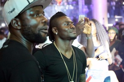 Obafemi Martins among the VVIP guests