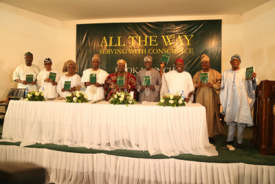 Presentation of the book, entitled, All The Way, Serving with Conscience
