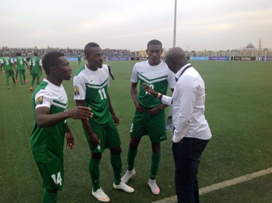 Siasia gives pep talks to his boys: No more Father Xmas, he says