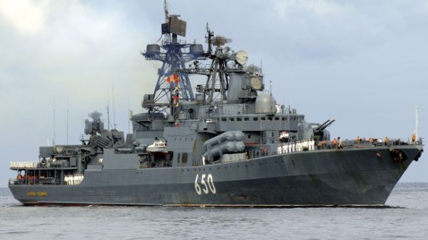 Russian destroyer Smetlivy: shoots at Turkish ship