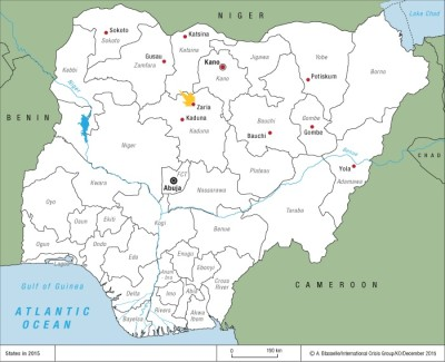 Nigerian cities that have recently seen protest rallies by the Islamic Movement of Nigeria, or where members of the movement clashed with local authorities. Crisis Group