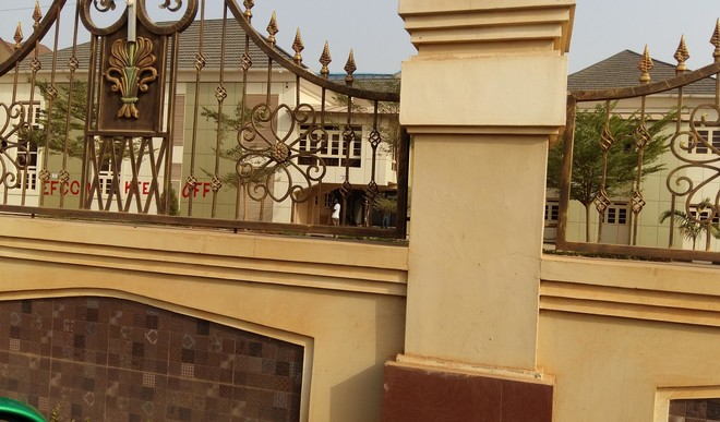 Blocks of flats and hotel in Jabi district of Abuja