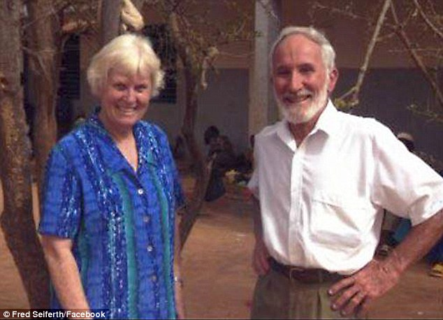 DR Kenneth Elliot and his wife Jocelyn