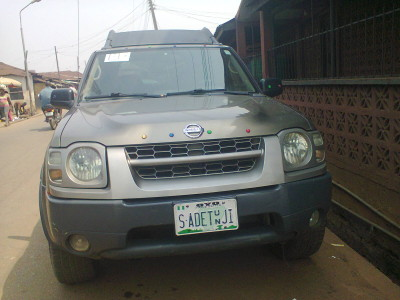 Balogun Saliu Adetunji's car parked on his street to create more  space in his compound for his guests