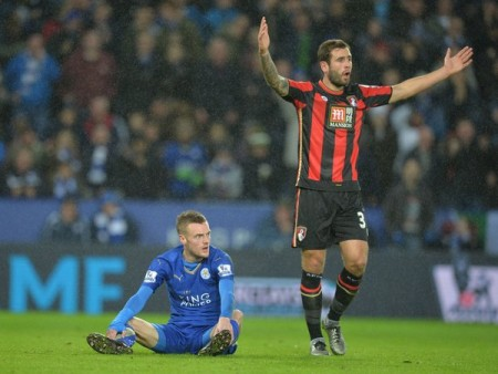 Vardy: sidelined by injury